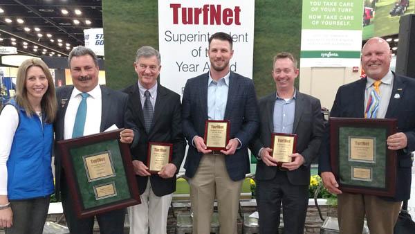 Tegtmeier and Croda take home Superintendent of the Year award