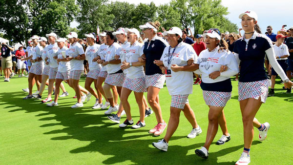 Solheim Cup host club donates portion of profits to charity