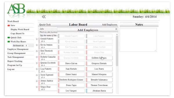 ASB brings taskTracker software to OnGolf platform