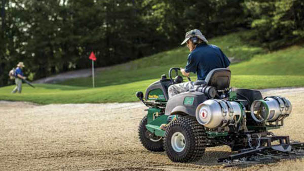 Propane-powered equipment needs a spark to catch on in golf