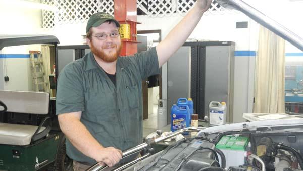 Technician of the Year finalist Aaron Brown