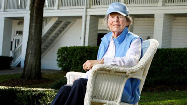 Golf lost a true friend and ambassador in Peggy Kirk Bell