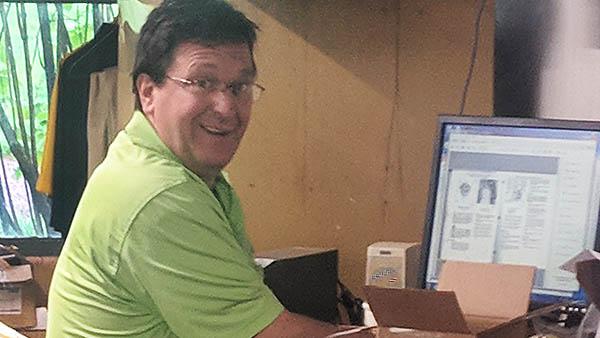 Technician of the Year finalist Dave Stofanak