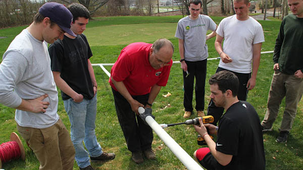 Industry reps get together to give DelVal students some real-world experience