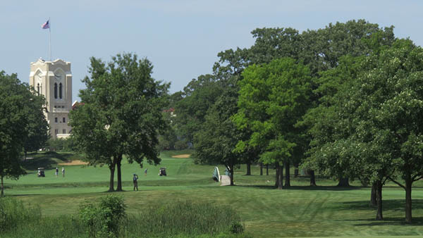 Olympia Fields a tough test for pros and members alike
