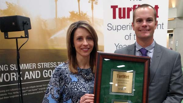 Colbert Hills' Gourlay named 2015 Superintendent of the Year, presented b...