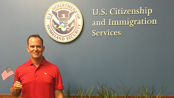 For David Dore-Smith, becoming a U.S. citizen is no small deal