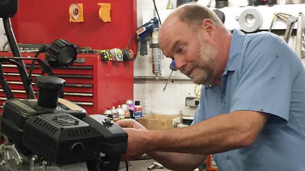 Technician of the Year finalist Bob Fedge