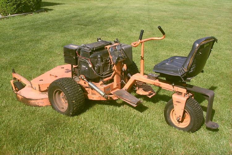 scag 3 wheel mower - YouTube