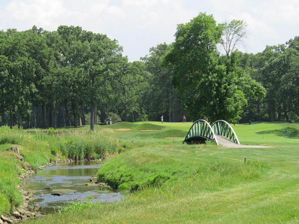 Conditions for the KPMG PGA Women's Championship will be what members at Olympia Fields see every day. Photo by John Reitman