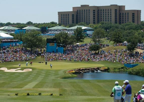 This week is the last of 35 PGA Tour events bearing Byron Nelson's name to be played at the Four Seasons Resort in Irving Texas. The tournament will move to Trinity Forest Golf Club next year.