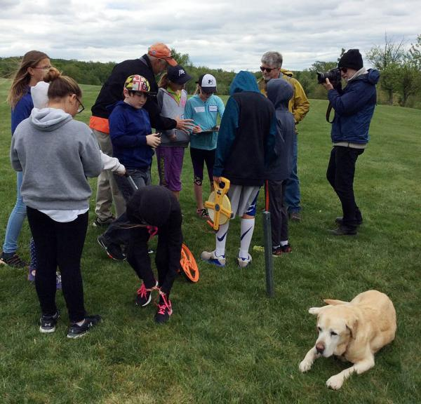 A recent field trip to Westminster National Golf Course in Maryland shows school-aged children how golf course superintendents us science, technology, engineer and math every day to do their jobs.