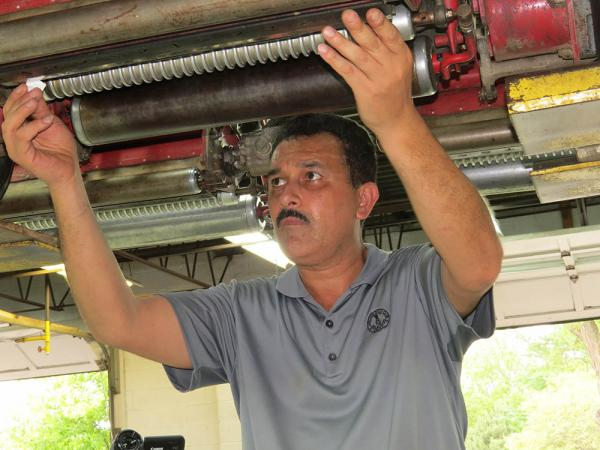 Tony Nunes has implemented a preventive maintenance program at Chicago Golf Club that keeps equipment on the course where it is needed. Photo by John Reitman