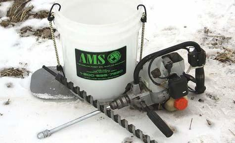 Ams adds drill driven core sampler news news for 90 soil compaction
