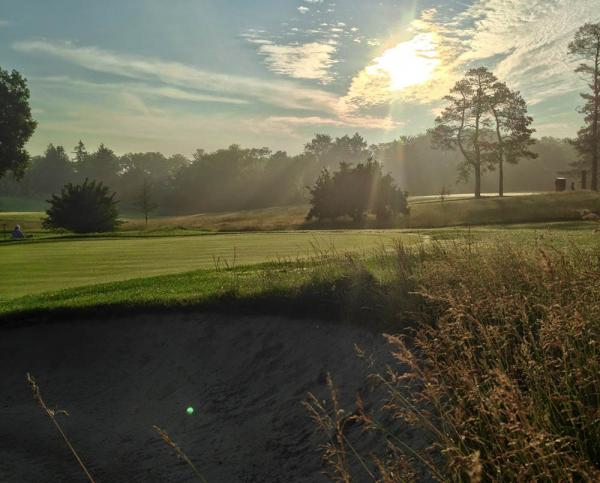 The University of Michigan Blue Course, shown here, and Radrick Farms are leading the way in the quest toward sustainability.