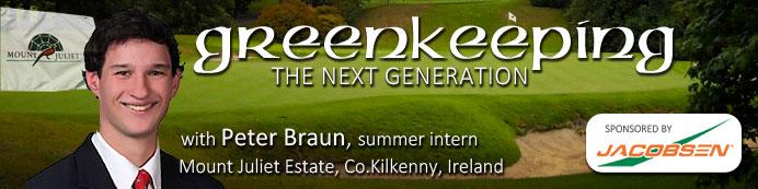 Peter Braun: Interning in Ireland & New Zealand