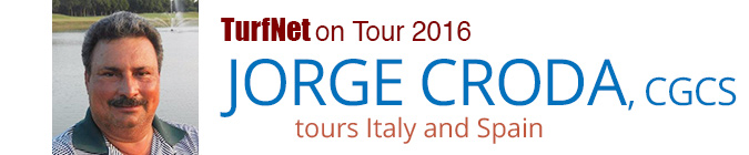 TurfNet on Tour 2016: Jorge Croda