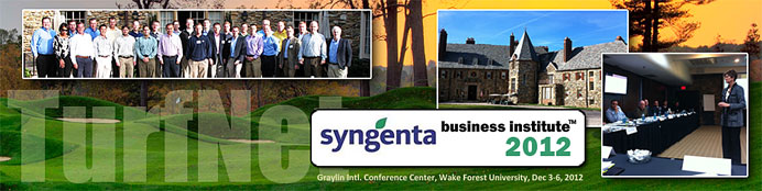 Syngenta Business Institute 2012