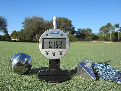 PrecisionUSA Putting Green Firmness Meter
