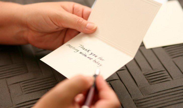 Impact of a Handwritten Note, Again