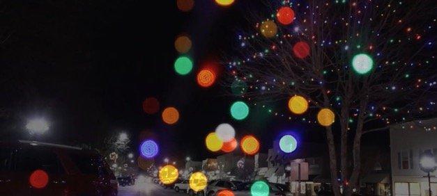 A Christmas Card on Film