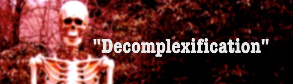 Decomplexification:  A Skeletal Golf Theory Film