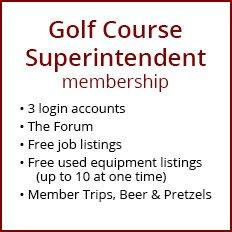 Golf Course Superintendent Membership