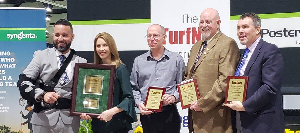 Carlos Arraya named TurfNet Superintendent of the Year
