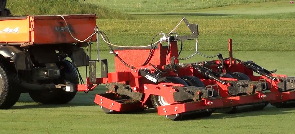 ProRoll from Progressive Turf: maneuverable and follows contours