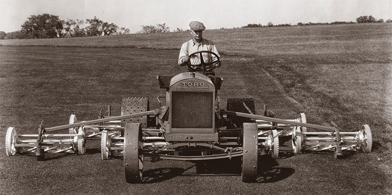 Toro celebrates 100 years in golf turf