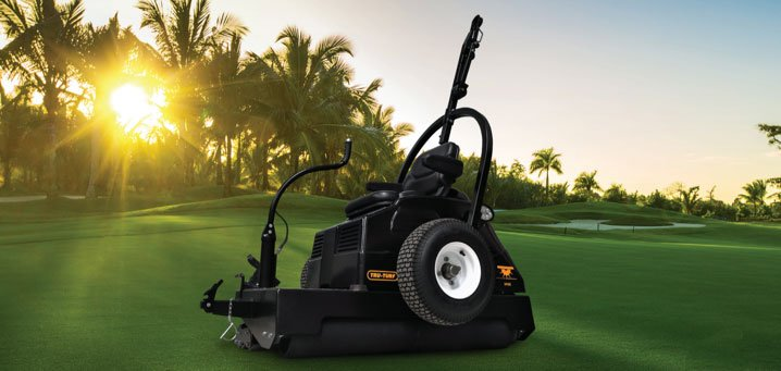 Tru-Turf debuts electric roller: the RE50