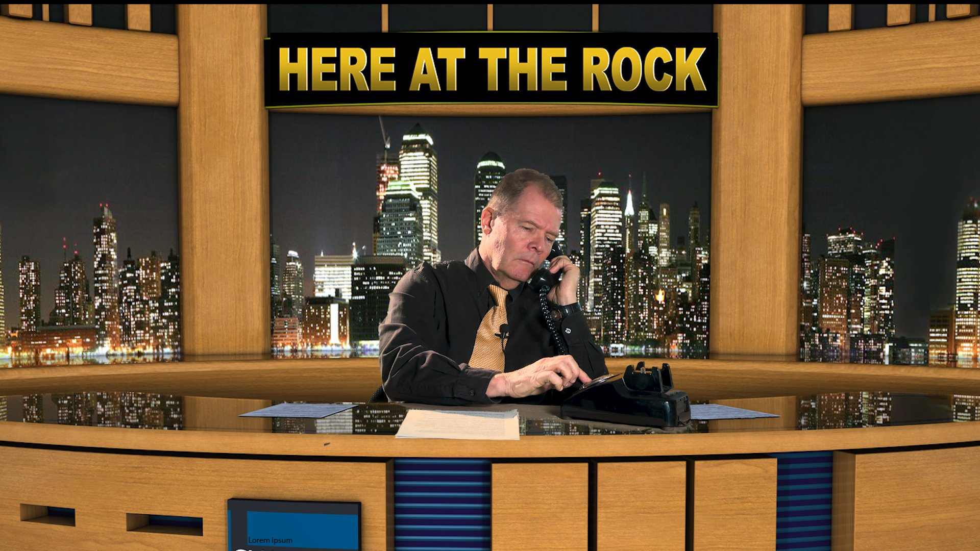 News Bulletin From Here At The Rock