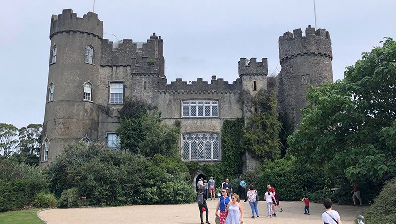 Parker Stancil: Special Visitors and Malahide Castle