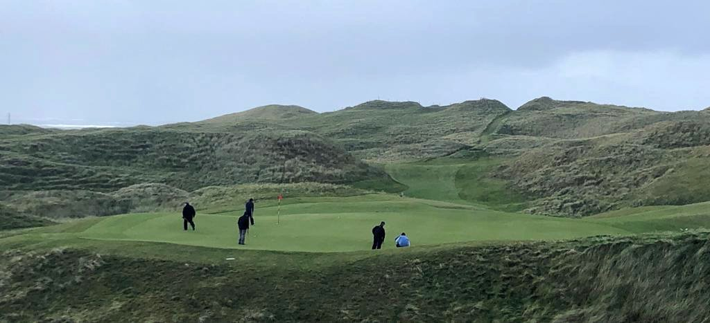 Tuesday Golf at Carne and activities at Mount Falcon Estate