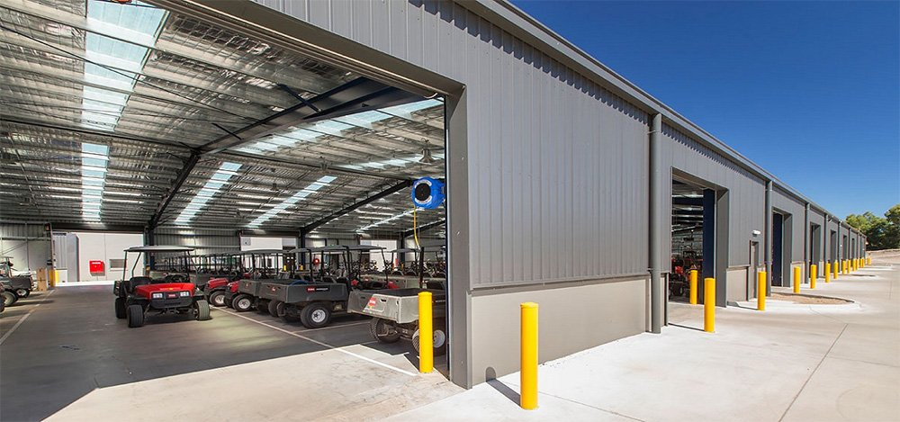 RMGC Maintenance facility: Royal in every way!