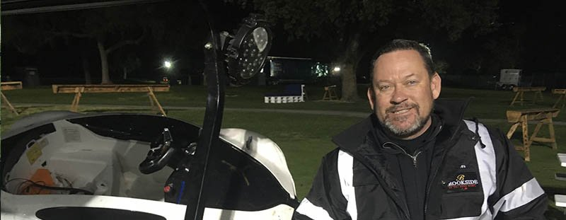 Superintendent flips golf course to parking, party area and back again