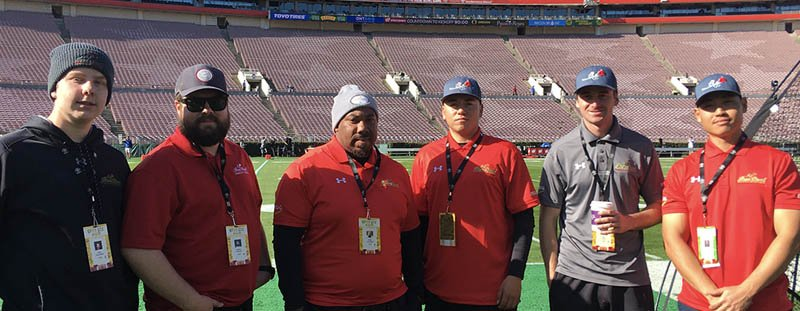 The Rose Bowl is more than just a job for this extended family