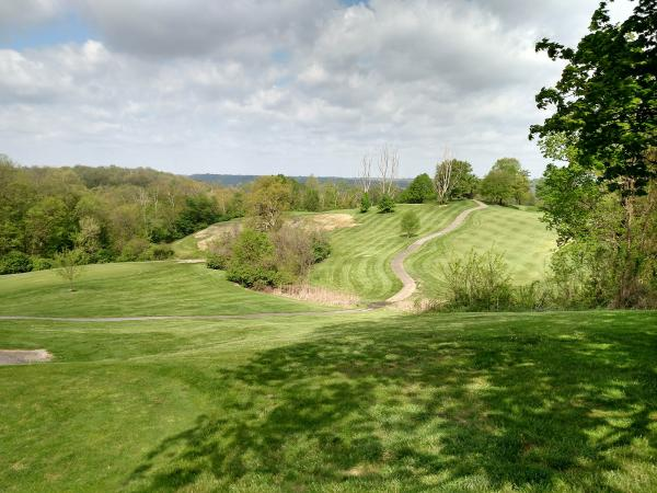 Getting the fairways at Devou Golf and Event Center Poa-free has been a long road for superintendent Ron Freking.