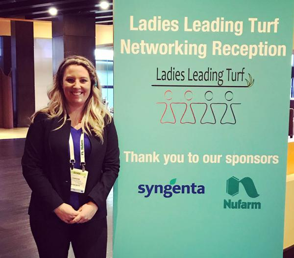 Through events like the one she organized at this year's Golf Industry Show, Leasha Schwab is paving the way for other women to make inroads into the golf industry, as well as smoothing the path for those already in it.