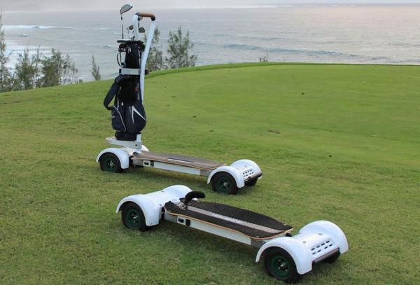 Innovations like the GolfBoard might help make golf more appealing to younger players.