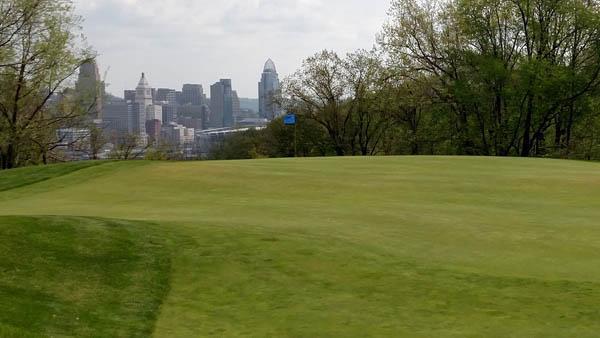 The Cincinnati area, seen here from Devou Golf and Event Center, is ground zero for Meyer zoysiagrass. Photos by John Reitman